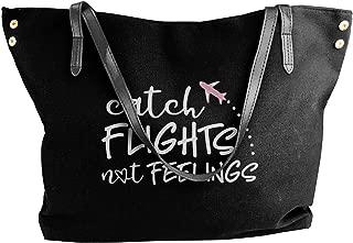 Catch Flights Not Feelings Women Shoulder Bag,shoulder Bag For Women