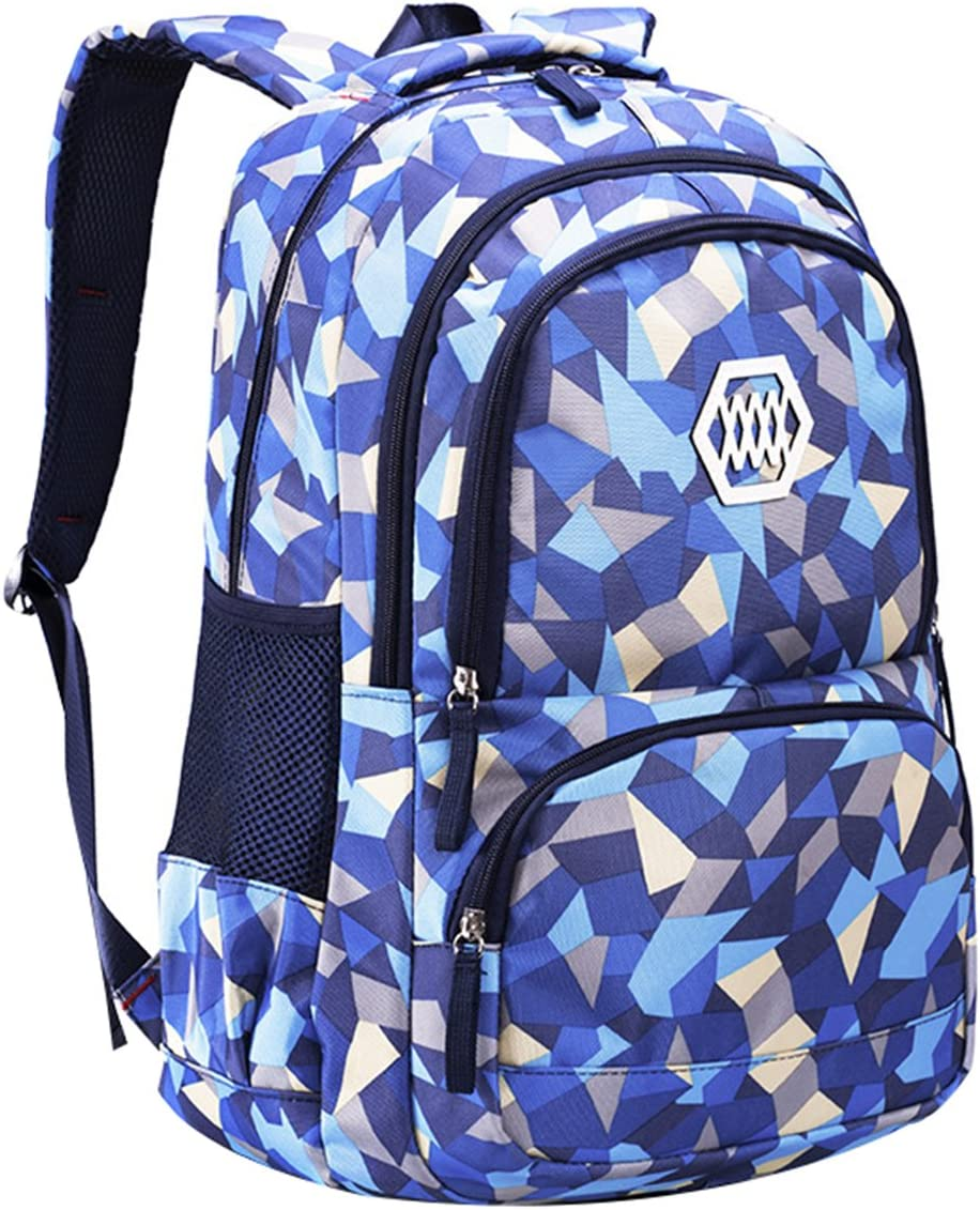 JiaYou Girl Geometric Printed Primary Junior University High Sch Max 68% Discount mail order OFF