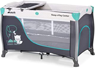 comprar comparacion Hauck Sleep N Play Center 3 - Cuna de viaje 7piezas, de 0 meses a 15 kg, plegable, antivuelco, doble altura para recien na...