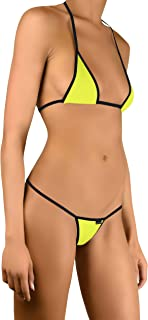 417 Mini Bikini Tanga String Mujer