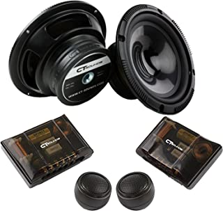 CT Sounds Full Range Component Car Speakers (Strato 2-Way 6.5 Inch)