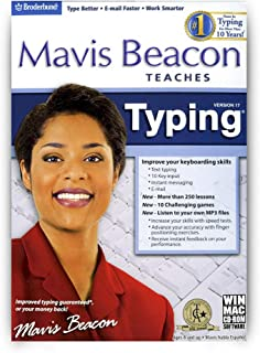 Mavis Beacon Teaches Typing 17 Age Rating:8 and Up