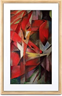 MEURAL Canvas II MC321LW Smart Art Digitale HD Leinwand 41 x 61 cm (Heller Holzrahmen, 21,5 Zoll, Gemälde und Fotografien werden in naturgetreuen Details wiedergegegeben, WLAN mit App, von Netgear)