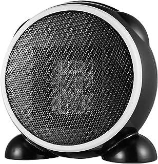 XYW-0007 Calefactor EléCtrica Calefactor Calentador De Escritorio PequeñO, Eficiente, De Temperatura Constante, PortáTil, 500 Vatios (Negro)