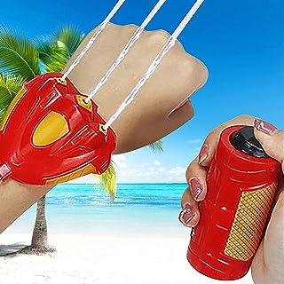 Water Wrist Sprinkler for Kids, Summer Bathroom Beach Mini Wrist Sprinkler Sprinkler Toy Interactive Toys for Toddlers Boy...