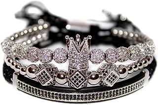 KOKOSHELL Royal Crown Jewels 3PCS Set - Gold/Silver Bracelets