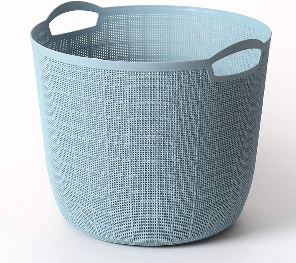 Portable Light Laundry Basket Popular standard Hamper Bathroom D Hollow Regular store