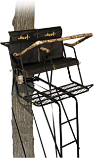 Muddy MLS2251 Stronghold 2.5 XTL Tree Stand, Tree Lok System 18' Ladder Stand