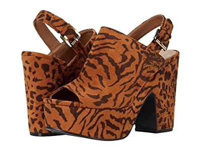 Chinese Laundry Bella (Dark Tan Tiger Leopard) Women