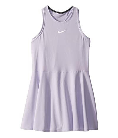 Nike Kids Court Dry Tennis Dress (Little Kids/Big Kids) (Oxygen Purple/White/White) Girl