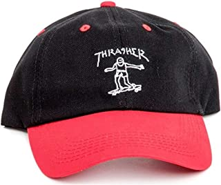 b032d363973 Thrasher Gonz Old Timer Hat Black Red