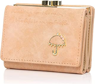 moca Womens Girls Ladies Female Short Mini Small Clutch Wallet purse for womens Women's Ladies