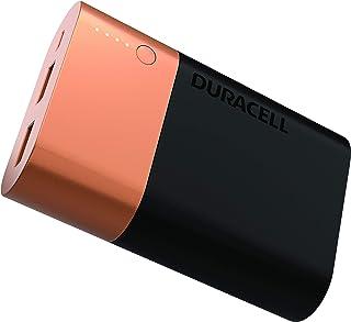 Duracell Power Bank, Batería Portátil, Capacidad 10050 mAh, Recargable, Tecnología de Carga Dual