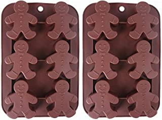 gingerbread man silicone mould