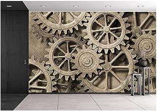mechanical gear wallpaper