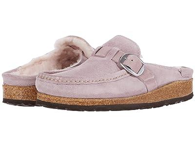 Birkenstock Buckley Shearling (Lavender Blush/Lavender Blush Suede/Shearling) Women