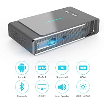 KODAK Luma 350 Proyector Inteligente y móvil de Video: Amazon.es ...