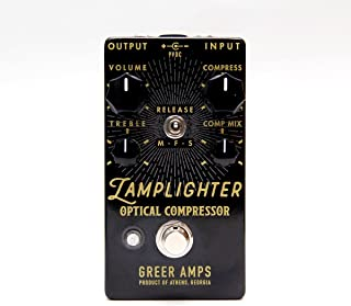 Greer Amps Lamplighter Optical Compressor Guitar Effects Pedal