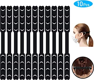 10PCS Adjustable Straps for Face Mask 4 Gears Adjustable Face Mask Straps Ear Straps for Face Mask Ear Savers Suitable for Kids and Adults