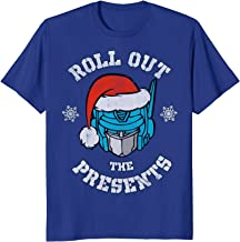 Transformers Roll Out The Presents Holiday T-Shirt