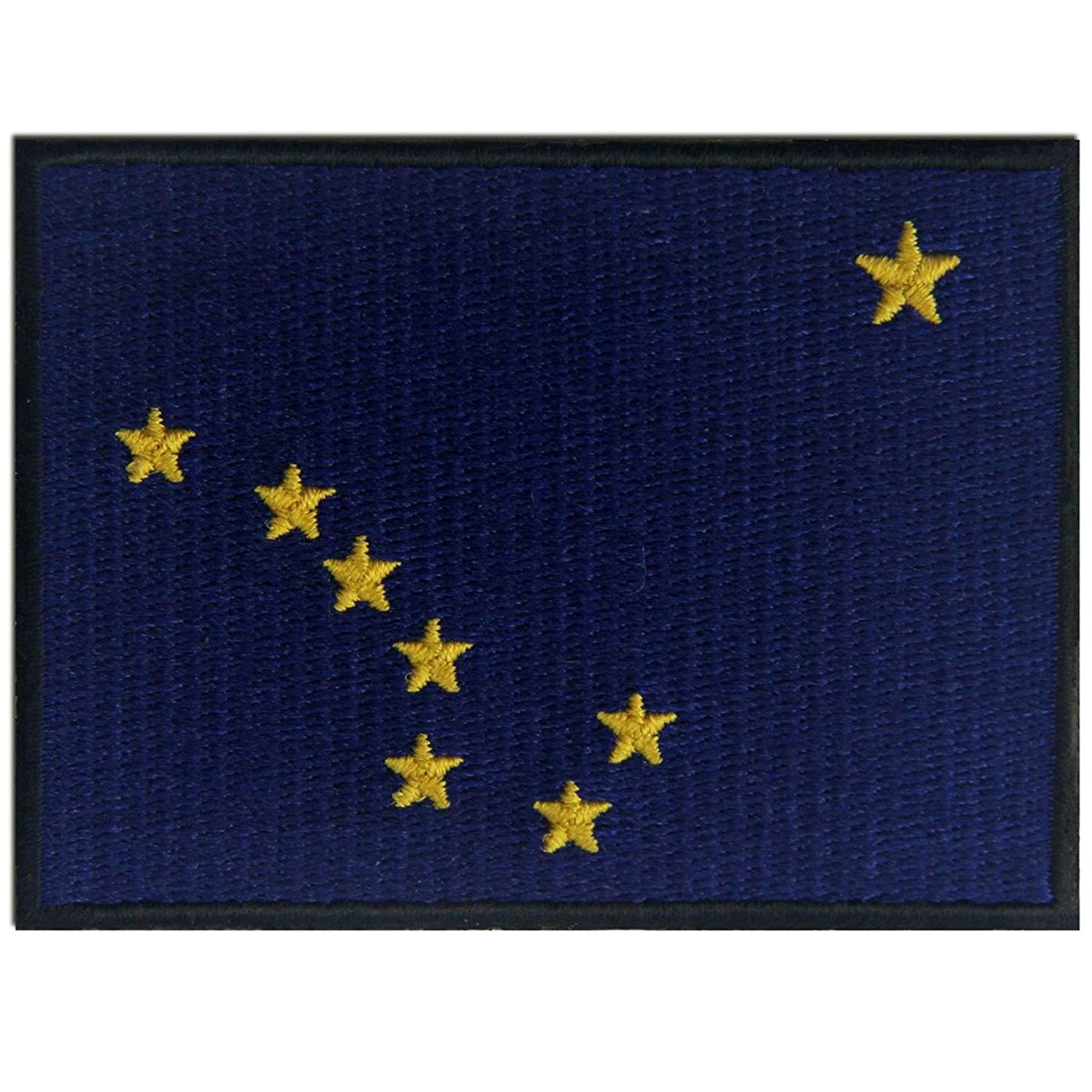Alaska State Flag Embroidered Emblem Iron On Sew On AK Patch