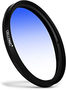 CELLONIC   Graduated color filter Blue compatible with walimex pro 62m...