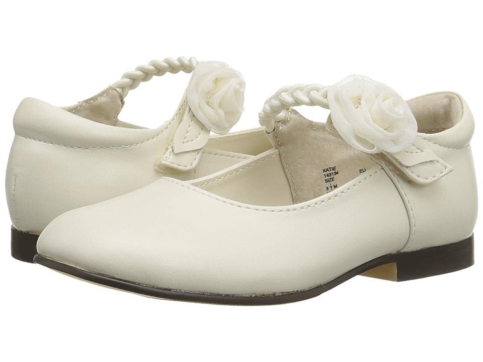 Jumping Jacks Kids Katie Balleto (Toddler/Little Kid) (Bone Smooth/Bone) Girls Shoes