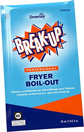 Diversey Break-Up Professional Fryer Boil-Out, 2 oz. Packet (36