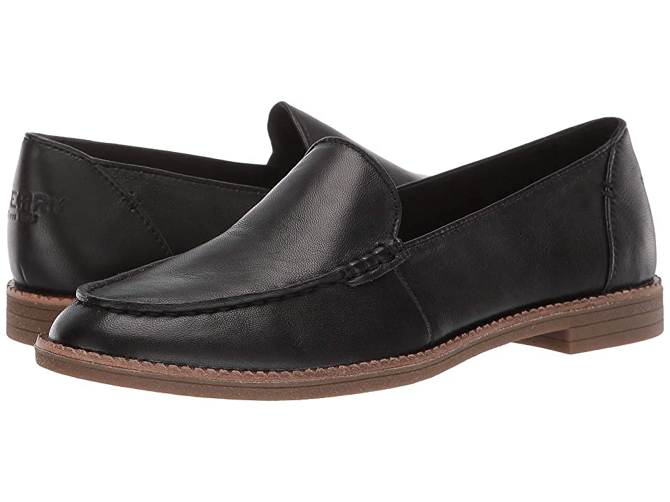 Sperry Waypoint Slipper (Black) Women's Slip on Shoes