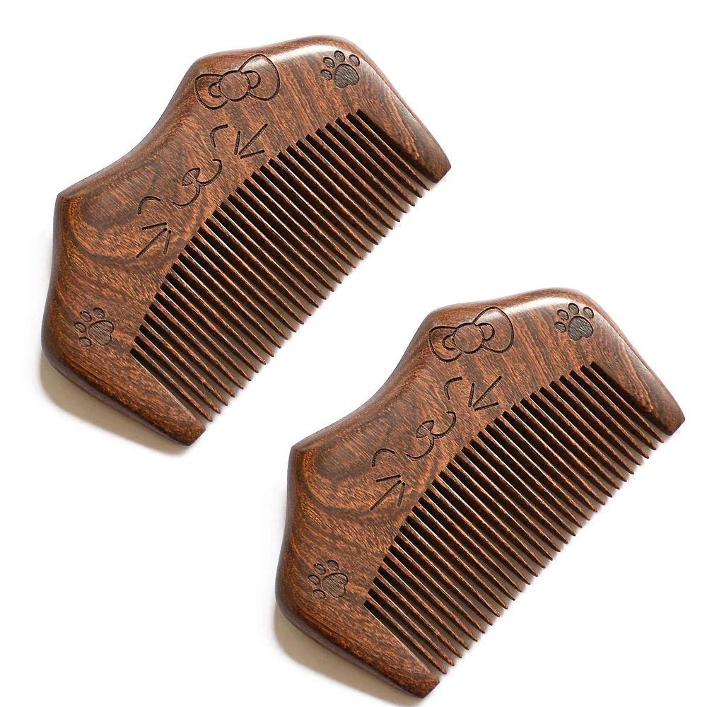 Sitronugras Small Ranking integrated 1st place Mini Award-winning store Wooden Sandalwood Hair Straight for Combs