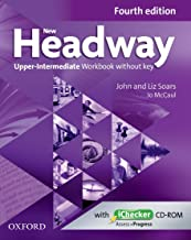 New Headway: Upper-Intermediate B2: Workbook + iChecker without Key: The world's most trusted English course