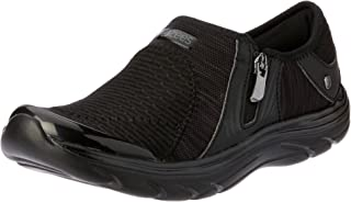 Bzees Women's ath Leisure Casual Comfort Slip on Balance