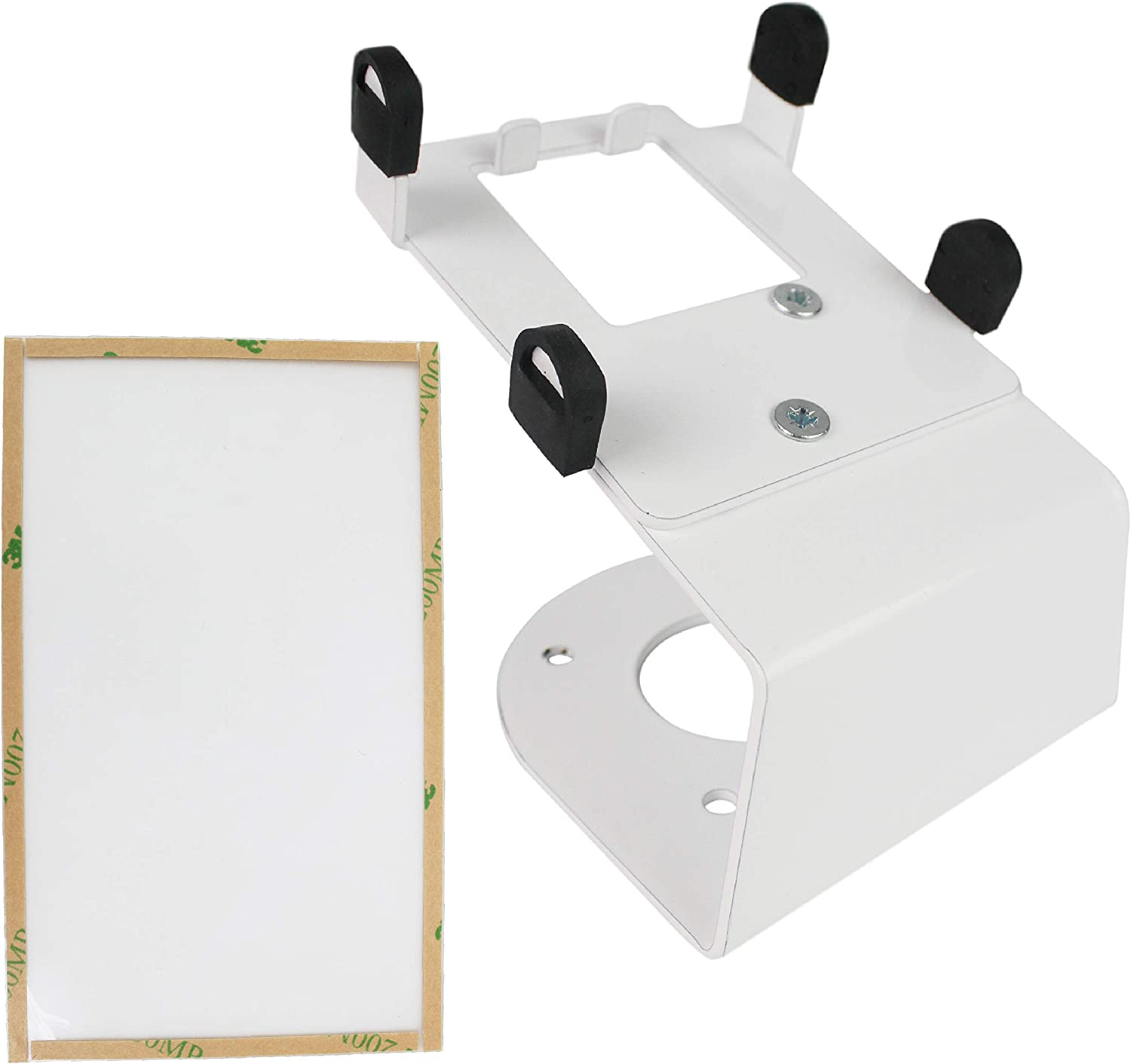 DCCStands Fixed Clover Flex Terminal Stand with Screen Protector - Screw-in and Adhesive