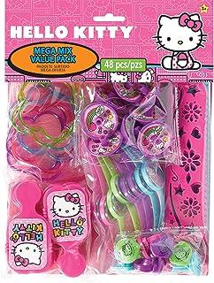 SET of 11 Shoe Charms for Crocs HELLO KITTY Anime Costumes Balloons Rainbow