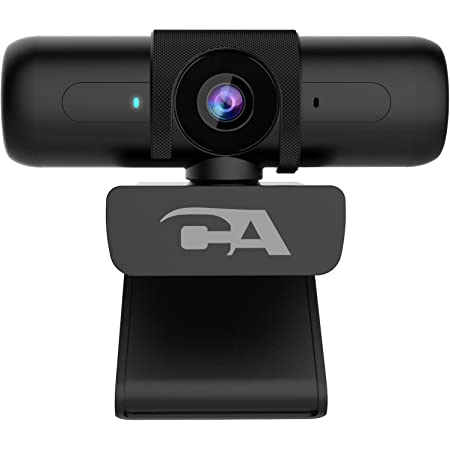 CA Essential Webcam 1080HD-AF – USB Webcam with Microphone for Desktop or Notebooks, 1080p Webcam, HD Auto-Focus and Light Correction, Omni-Directional Microphone (WC-2000)