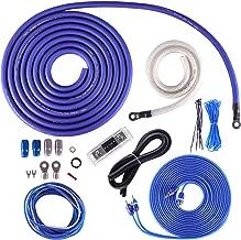 Skar Audio 1/0 Gauge OFC Complete Amplifier Installation Wiring Kit, SKAR0ANL-OFC