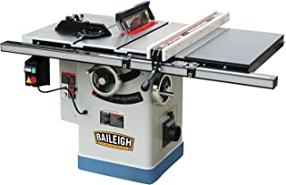 Baileigh TS-1040P-30 Professional Cabinet Style Table Saw, 3 hp, Single Phase, 220V, 40