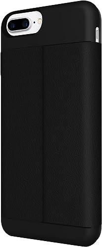 wholesale iPhone 7 Plus Case, Incipio Wallet Folio Case Credit Card wholesale Case Vegan Leather Cover fits Apple iPhone 7 Plus - lowest Black outlet online sale
