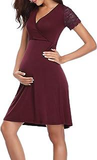 Pijama Premamá Lactancia Algodon Casual Embarazo Ropa Maternidad para Mujer