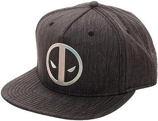 46a6ee25 Marvel Deadpool Logo Adult Sized Iridescent Weld Woven Snapback Hat