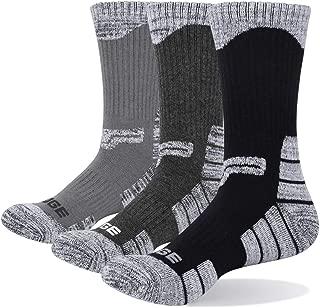 YUEDGE 3P Men Wicking Outdoor Multi Performance Hiking Socks