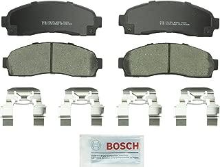 Bosch BC833 QuietCast Premium Ceramic Disc Brake Pad Set For: Ford Explorer, Explorer Sport, Explorer Sport Trac, Ranger; Mazda B2300, B3000, B4000; Mercury Mountaineer, Front