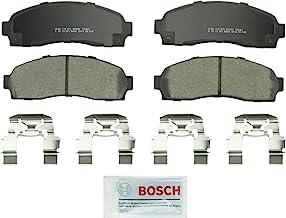 Bosch BC833 QuietCast Premium پانل دیسک ترمز دیواری سرامیک برای Ford Explorer، Explorer Sport، Explorer Sport Trac، Ranger؛ مزدا B2300، B3000، B4000؛ کوه نوردی، جبهه