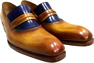 [Oscar William] Derry Street Men's Luxury Classic Handmade Leather Shoes