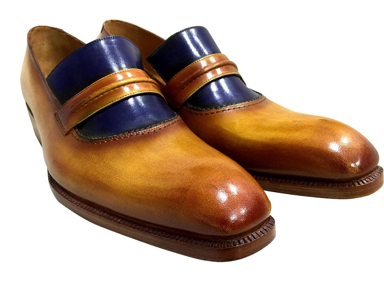 [Oscar William] Derry Street Men's Luxury Classic Handmade Leather Shoes
