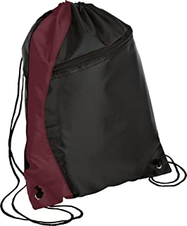 luggage-and-bags Colorblock Cinch Pack OSFA Maroon/Black