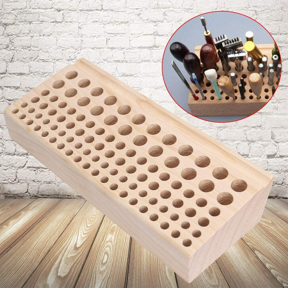 Leather Discount is Easy-to-use also underway Tools and Supplies 98 Rack Holes Tool Wood Craft