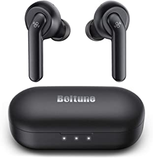 Wireless Earbuds Active Noise Cancelling, Boltune Bluetooth Earbuds with 4 Mics Noise Reduction, Enhanced Deep Bass, IPX8 ...