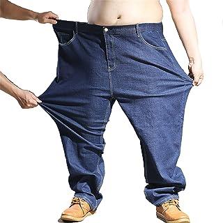 Heren Jeansbroek Extra groot Oversized Heren elastische stretch denim broek Heren Jean broek Denim broek Alle taille grote...