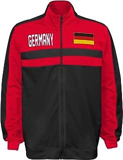 Large Team color International Soccer France Mens Outerstuff Track Jacket